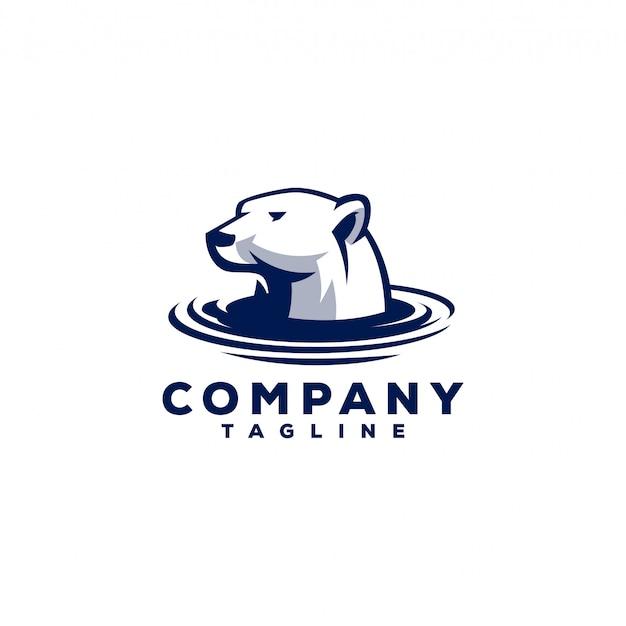 Logo niedźwiedzia polarnego