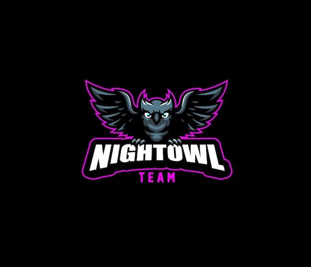 Logo night owl team esport