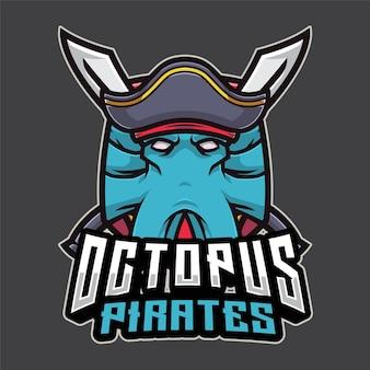 Logo octopus pirates