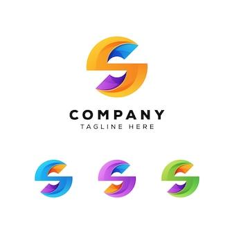 Logo okrągłe litery