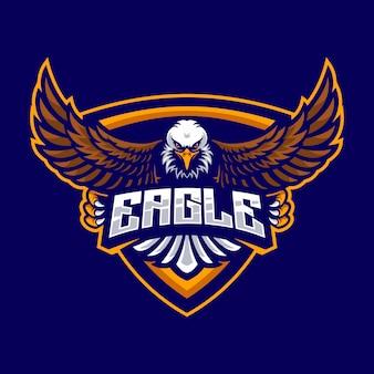 Logo orła dla drużyny sportowej