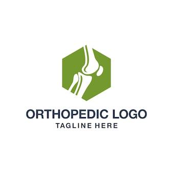 Logo Ortopedyczne Premium Wektorów