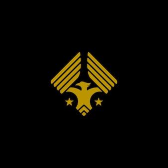 Logo orzeł skrzydła