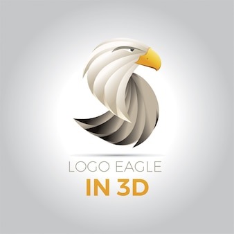 Logo orzeł w 3d
