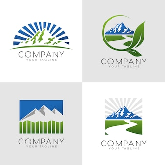 Logo outdoor mountain