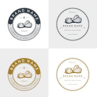 Logo oyster vintage