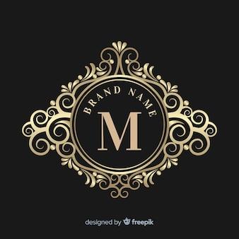 Logo ozdobne eleganckie
