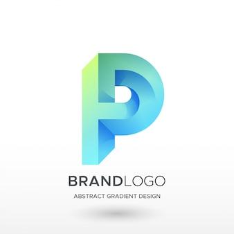 Logo p gradient