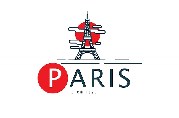 Logo paryża.