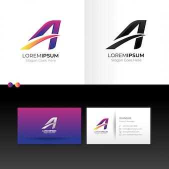 Logo pierwsza litera a