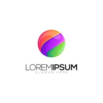 Logo piłka koło