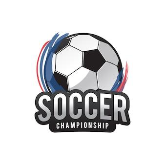 Logo piłki nożnej, american logo sport