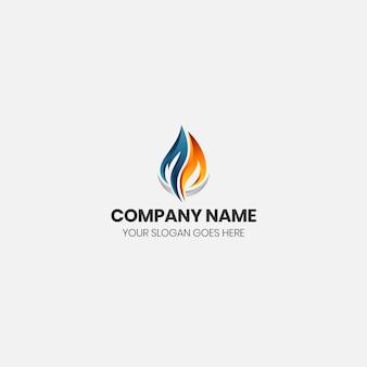 Logo płomienia