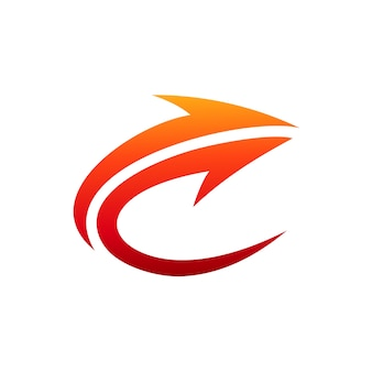 Logo początkowe litera c
