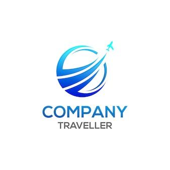 Logo podróżnika