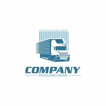 Logo półciężarówki