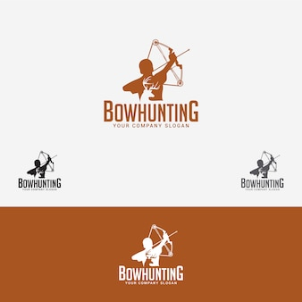 Logo polowania na łuk