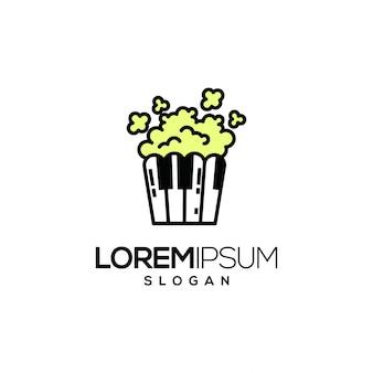Logo pop pop corn