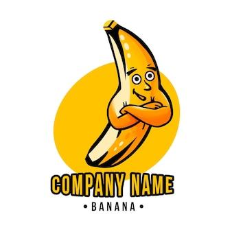 Logo postaci banana