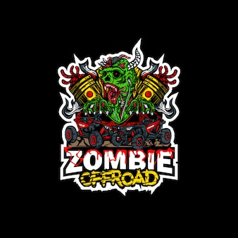 Logo potworów zombie