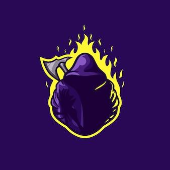 Logo premium chłopca mystix