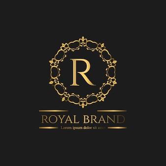 Logo premium luksusowe logo