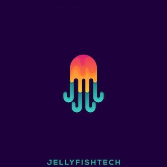 Logo premium meduza