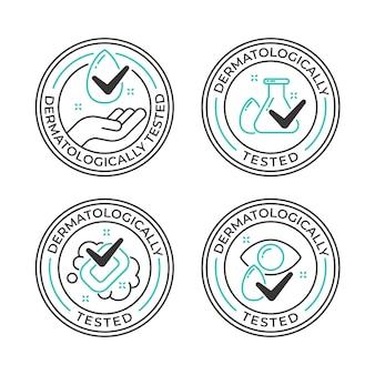 Logo przetestowane dermatologicznie
