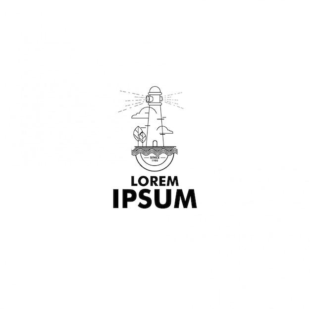 Logo przygody linii sztuki