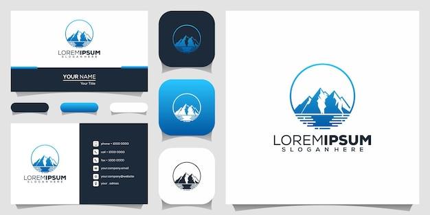 Logo przygody w górach