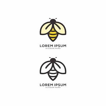 Logo pszczół miodnych