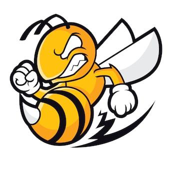 Logo pszczół sportowych