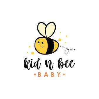 Logo pszczół