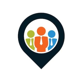 Logo punktu społeczności