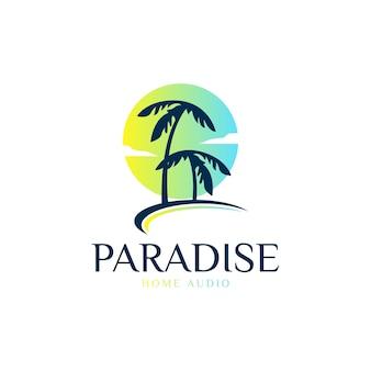 Logo raju plażowego