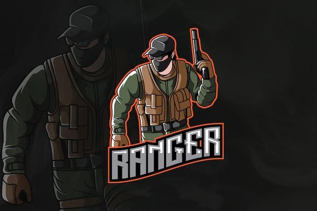 Logo ranger army esport