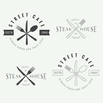 Logo restauracji, odznaka