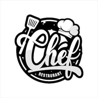 Logo restauracji szefa kuchni