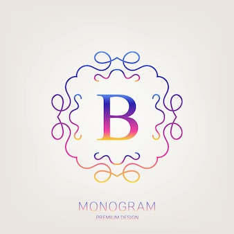 Logo rocznika monogram.