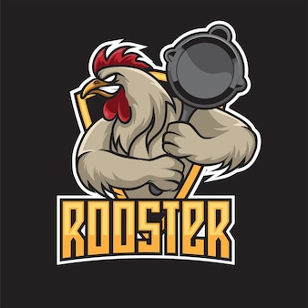 Logo rooster esport