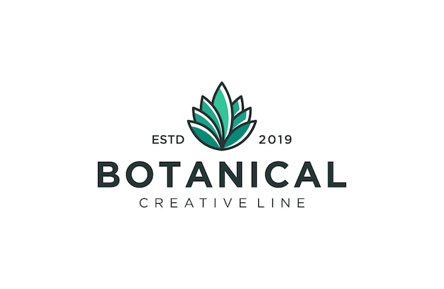 Logo rośliny botanicznej