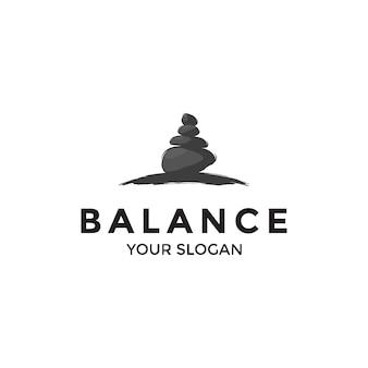 Logo równowagi rocka