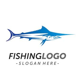Logo ryby marlin