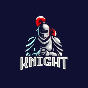 Logo rycerza e sport