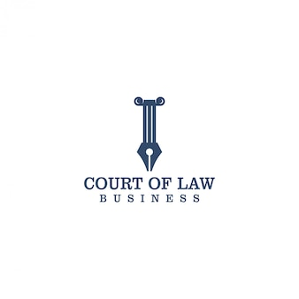 Logo sądu dla prawnika