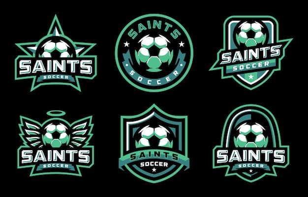 Logo saints soccer sport