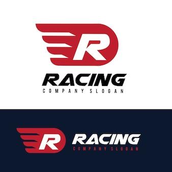 Logo samochodu i motoryzacji z szablonem logo orła i skrzydła.