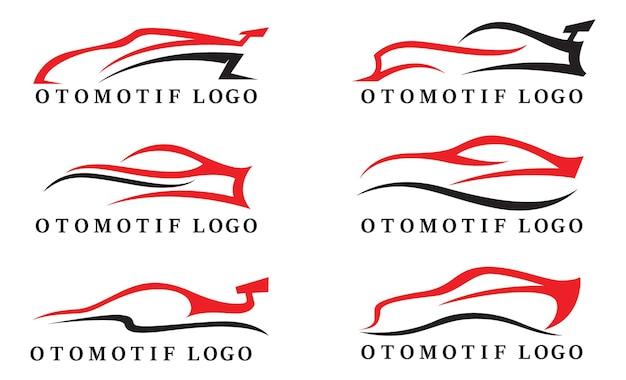 Logo samochodu otomotif i wektor symbolu