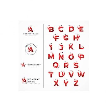 Logo samolotu i rozmieszczenie listów