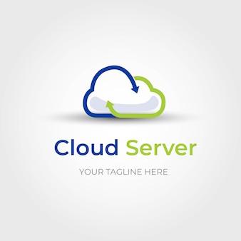 Logo serwera cloud